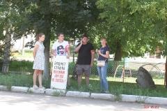 Пикет КПРФ против пенсионной реформы в Ртищево 28.07.2018_16