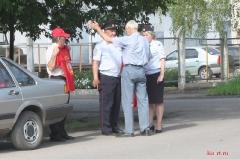 Пикет КПРФ против пенсионной реформы в Ртищево 28.07.2018_1