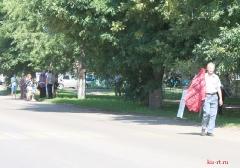 Пикет КПРФ против пенсионной реформы в Ртищево 28.07.2018_26