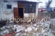 Пьяный курильщик погиб на пожаре в Ртищево
