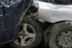 На въезде в Ртищево «лоб в лоб» столкнулись два автомобиля